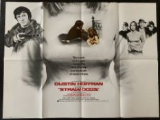 Cinema Poster:Straw Dogs, [1971], directed by Sam Peckinpah, starring Dustin Hoffmann, Susan