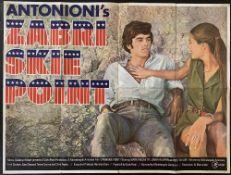 Cinema Poster:Zabriske Point, [1970] directed by Michelangelo Antonioni, starring Mark Frechette,