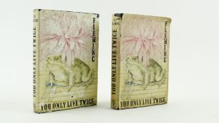 Fleming (Ian) You Only Live Twice, 8vo L. (Jonathan Cape) 1964, First, black cloth with Chinese gilt