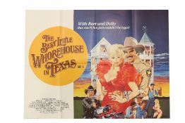 """""""This Much Fun Just Couldn't be Legal""""Cinema Poster: """"The Best Little Whorehouse in Texas,"""" 1982"""