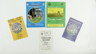 G.A.A.: Football, 1970s [Munster Football Championships] a collection of five Official Match