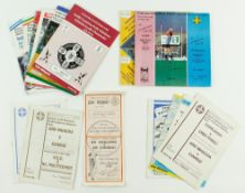 G.A.A.: Football [National League] 1980s, a collection of 15 Official Match programmes for semi-