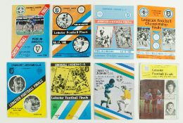 G.A.A.: Football [Leinster Championships] 1980's, a collection of 8 Official Match Programmes for