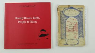 Donleavy (J.P.) Beastly Beasts, Birds, People and Places, 4to L. 2006. A catalogue for Exhibition at