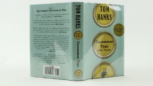 Signed by Tom HanksHanks (Tom) Uncommon Type, Some Stories, 8vo N.Y. (A.A. Knopf) 2017, First,