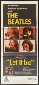 Cinema Poster: [The Beatles]Let It Be, [1970] directed by Michael Lindsay Hogg, starring The