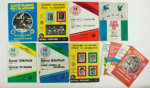 All-Ireland Football Finals, 1970 - 1979G.A.A.: Football, 1970 - 79,A collection of 11 Official