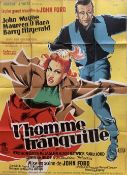 Cinema Poster:L'Homme Tranquille, (The Quiet Man) [1952] directed by John Ford, starring John