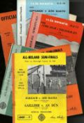 G.A.A.: Football, All-Ireland, Semi-Finals 1966 - 74, a collection of eight Official Match