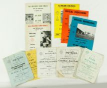 G.A.A. Football [All-Ireland Championship Semi-Finals] 1960's, a collection of 18 Official Match
