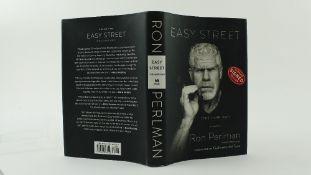 Signed by Ron PerlamPerlam (Ron) & Largo (M.)Easy Street (The Hard Way), 8vo, Philadelphia (Da Capo