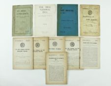 Pamphlets:  Gaelic League Pamphlets, approx. 13 items, by various authors including M. O'Hickey, Ed.