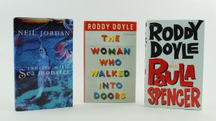 Signed by the AuthorDoyle (Roddy) The Woman Who Walked into Doors, 8vo, L. (Jonathan Cape) 1996,