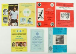 G.A.A.: Football [Leinster Championship] 1970's,A collection of seven Official Match Programmes for