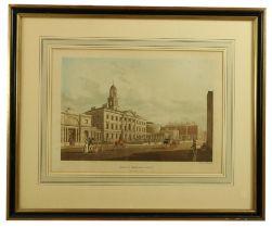 James Malton (1761 - 1803)A very good set of 13, original hand coloured Engravings of Dublin c.