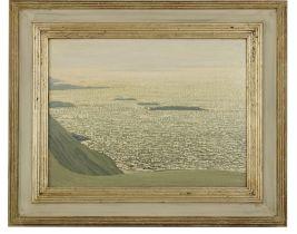 """Jeremiah Hoad ( 1924 -1999 )""""Malin Bay,"""" O.O.B., 31cms x 51cms (12 1/4"""" x 16 1/2""""), signed. (1)"""