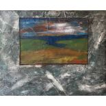 Dave McCormick, 21st Century ''Dusk'' Abstract, mixed media, 24'' x 30'' (61cms x 76cms). (1)