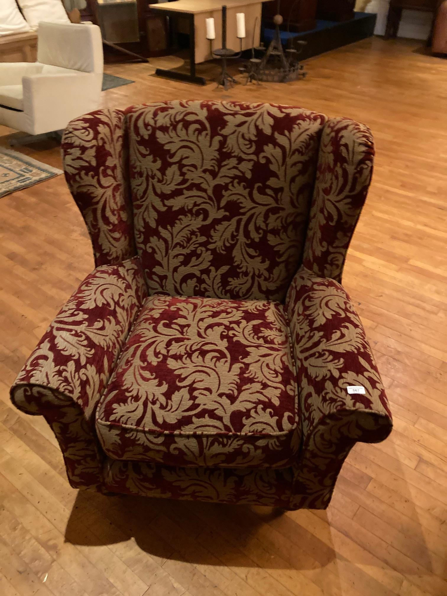 A very good modern Suite of Seat Furniture, comprising a four seater double cushion Settee with - Image 3 of 6