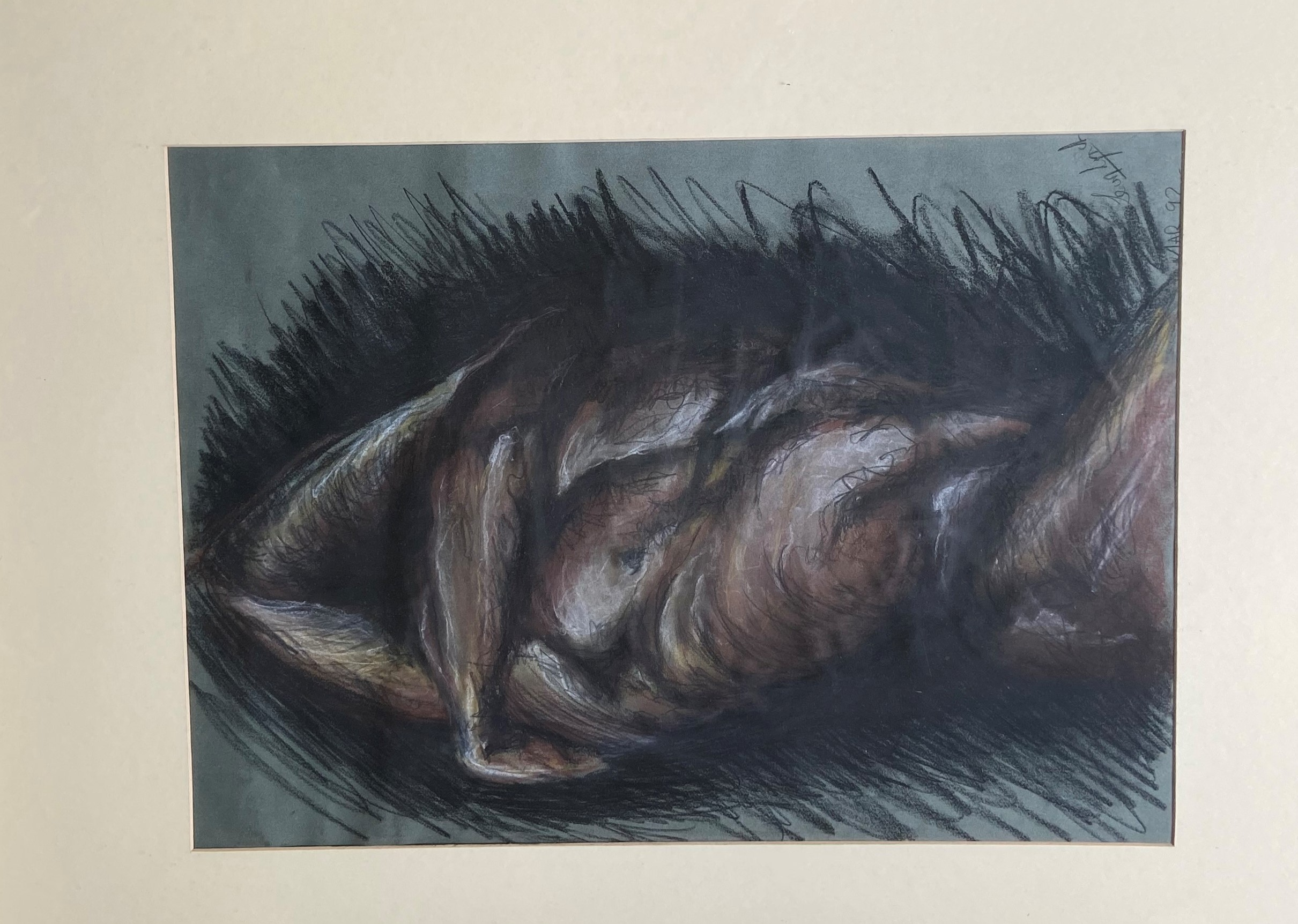 Leon Lynch, 21st Century Torso Study, Pastel, signed and dated Mar '92, 29'' x 21'' (74cms x - Image 2 of 2