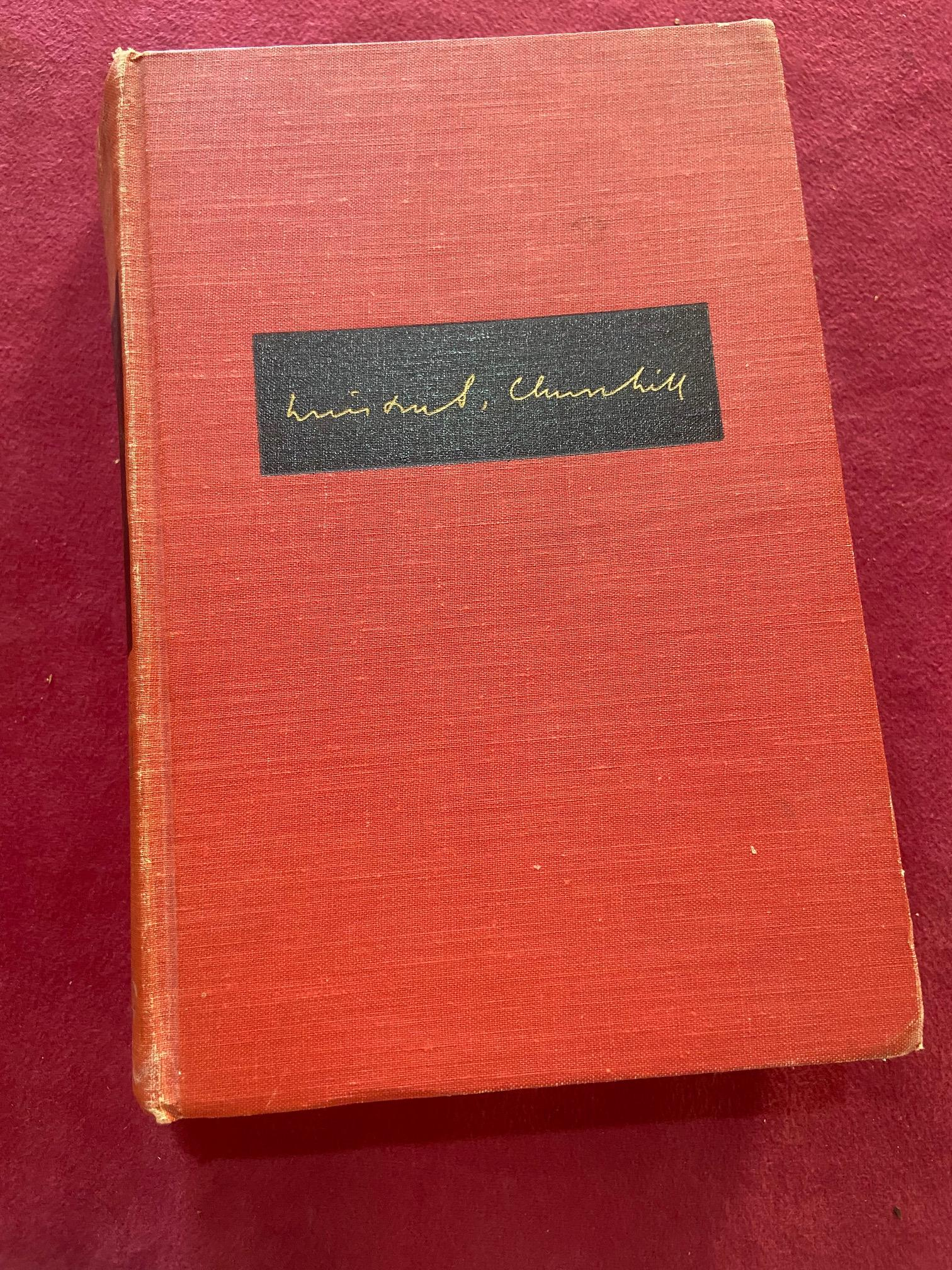 Signed by the Authorÿ Churchill (Winston S.)ÿTheir Finest Hour, Second World War, Vol. II only, - Image 20 of 22