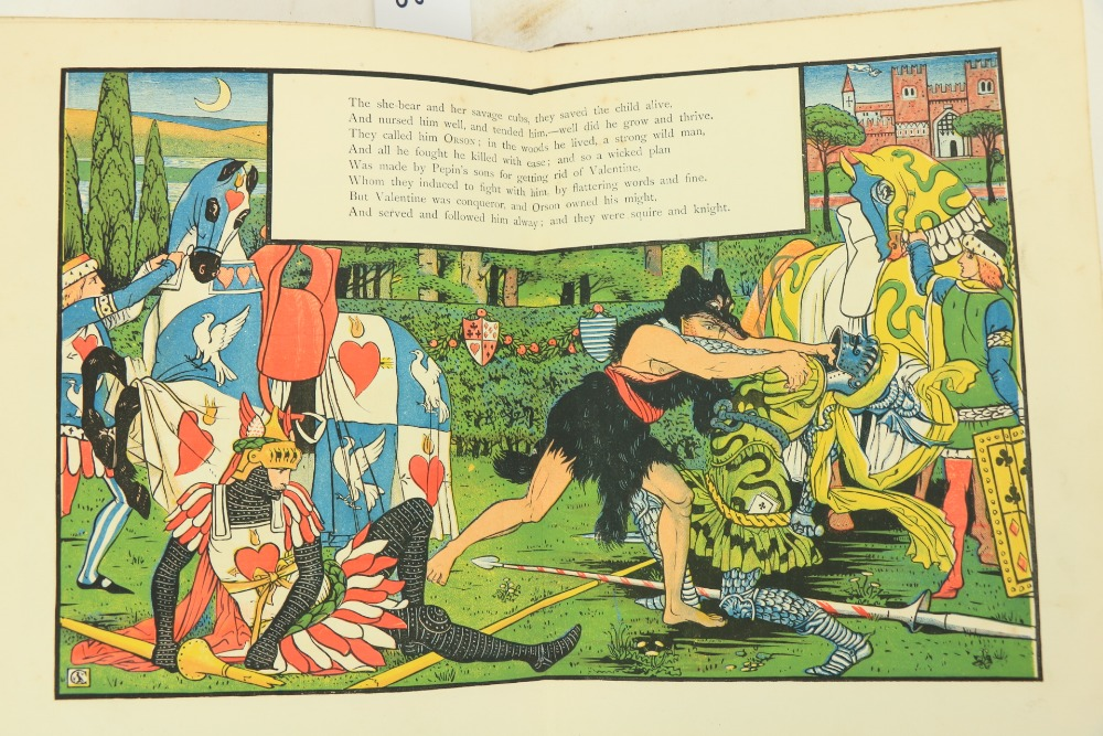 Juvenalia:ÿWalter Crane's Toy Books,ÿNew Series, 4to Lond. (Geo. Routledge) n.d. Containing, - Image 4 of 5