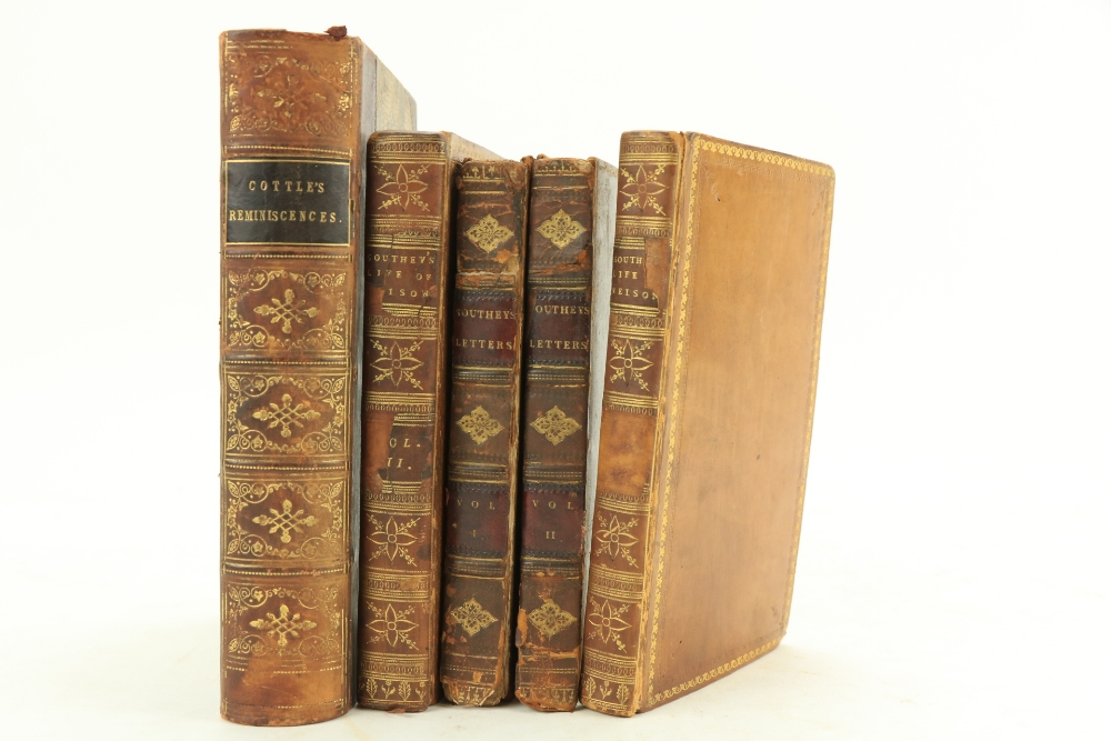 Southey (Robert)ÿTheÿLife of Nelson, 2 vols. 12mo Lond. (for John Murray, Bookseller to the