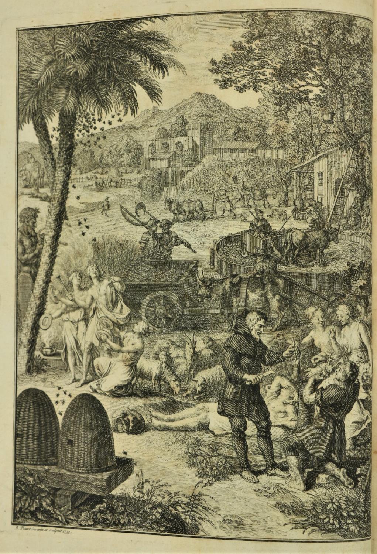 Gesnero (J. Matthia)ÿScriptores Rei Rusticae Veteres Latini, 2 vols. 4to Leipzig 1773 - 74.ÿSecond - Image 3 of 3