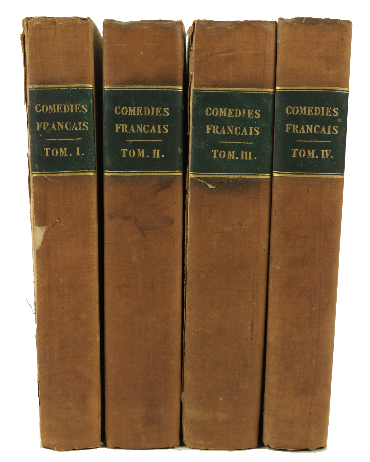 Early 19th Century Plays & Operasÿ French Literature:ÿÿComedies Francais, An important collection of