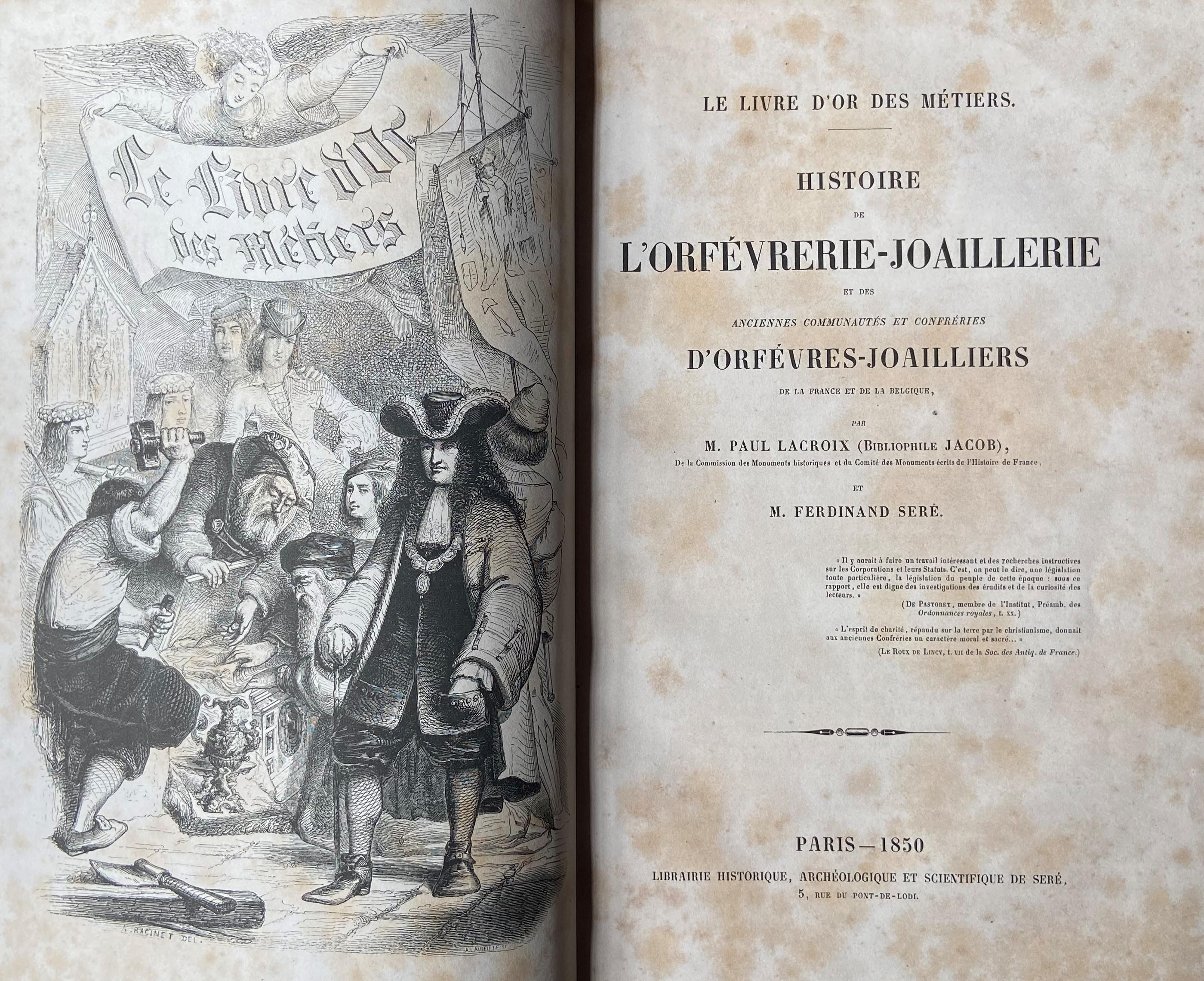 Fauriel (M.C.)ÿHistoire de la Croisade contre les Heratiques Albigeois, ... Lg. 4to Paris (Imprim.