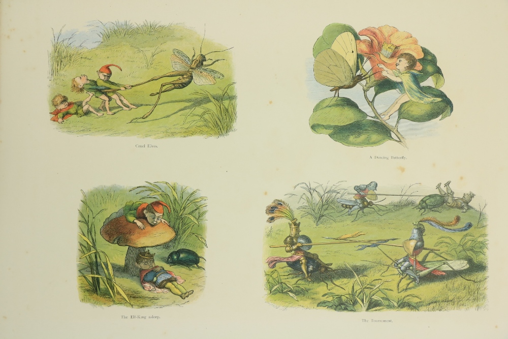 With Coloured Plates Doyle (Richard)In Fairyland, A Series of Pictures from the Elf World,Lg. - Image 3 of 3