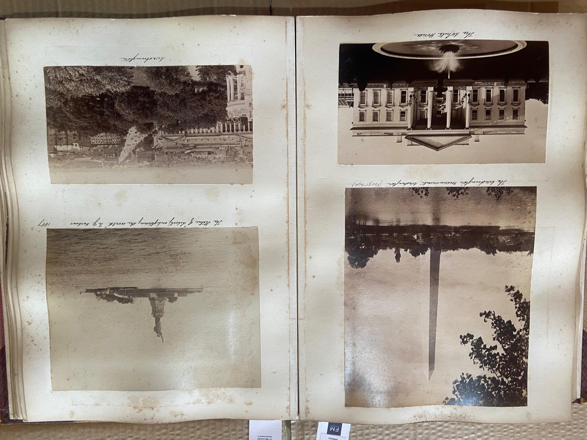 Photographs: Two large folio Albums of Photographs, each c. 1870 - 1890's. One Album contains - Image 4 of 31