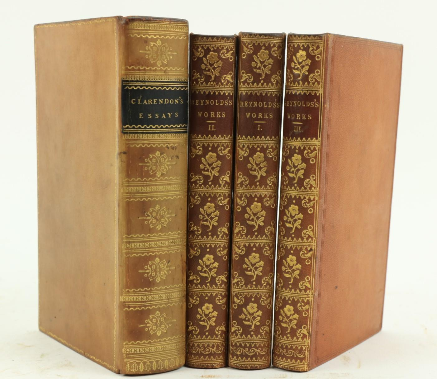 Reynolds -TheComplete Works of Sir Joshua Reynolds, First President of the Royal Academy. 3 vols.