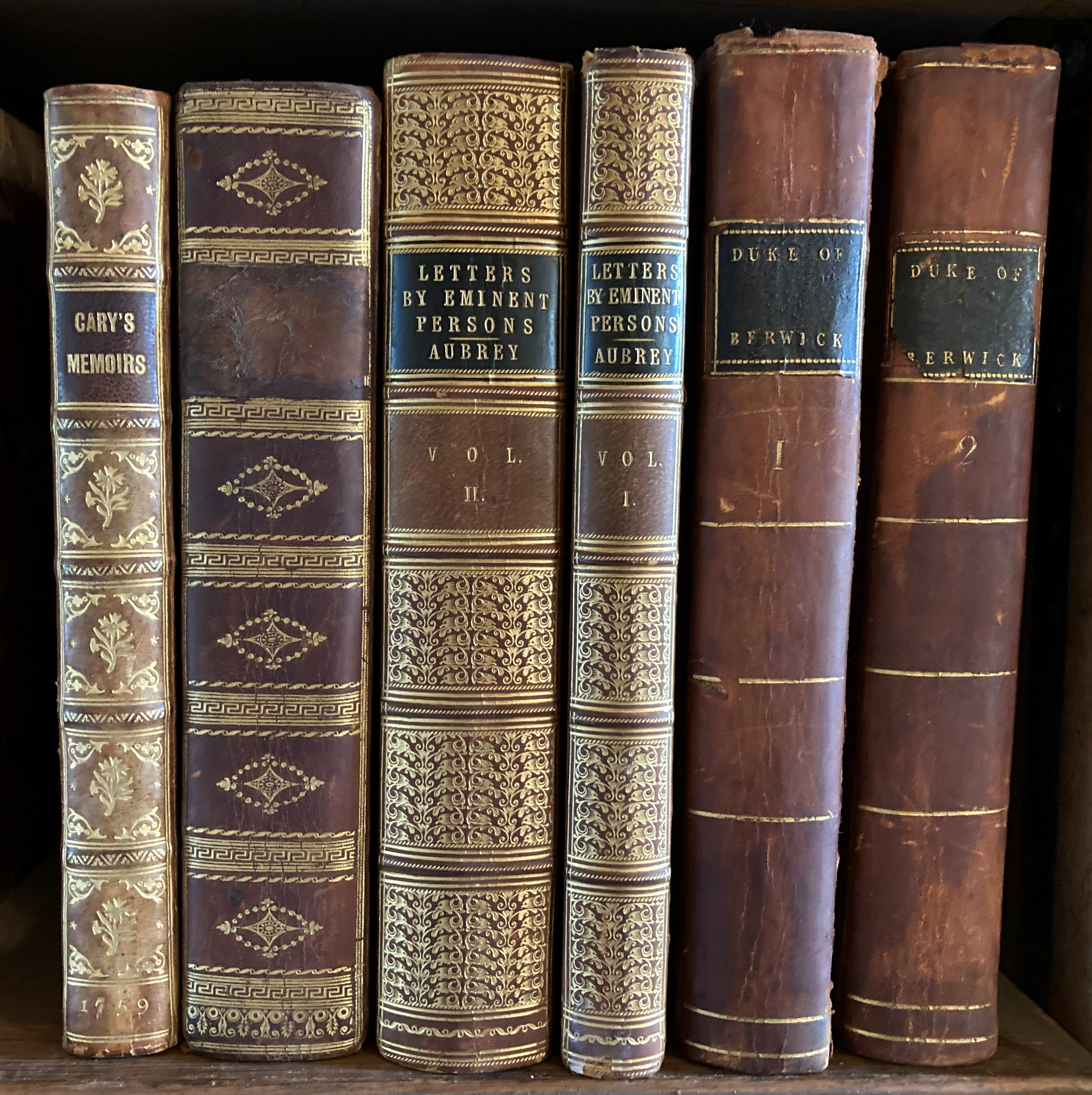 Cary -ÿMemoirs of the Life of Robert Cary, Baron of Leppington and Earl of Monmouth.. Published from - Image 3 of 3