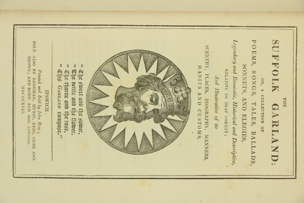 [Ford (Rev. James)] Editor.ÿThe Suffolk Garland: or A Collection of Poems, Songs, Tales, Ballads, - Image 2 of 5