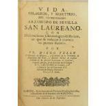 Tello (Fr. Diago)Vida Milagros, Y Martiyrio del Gloriosissimo Arzobispo de Sevilla San Laureano,