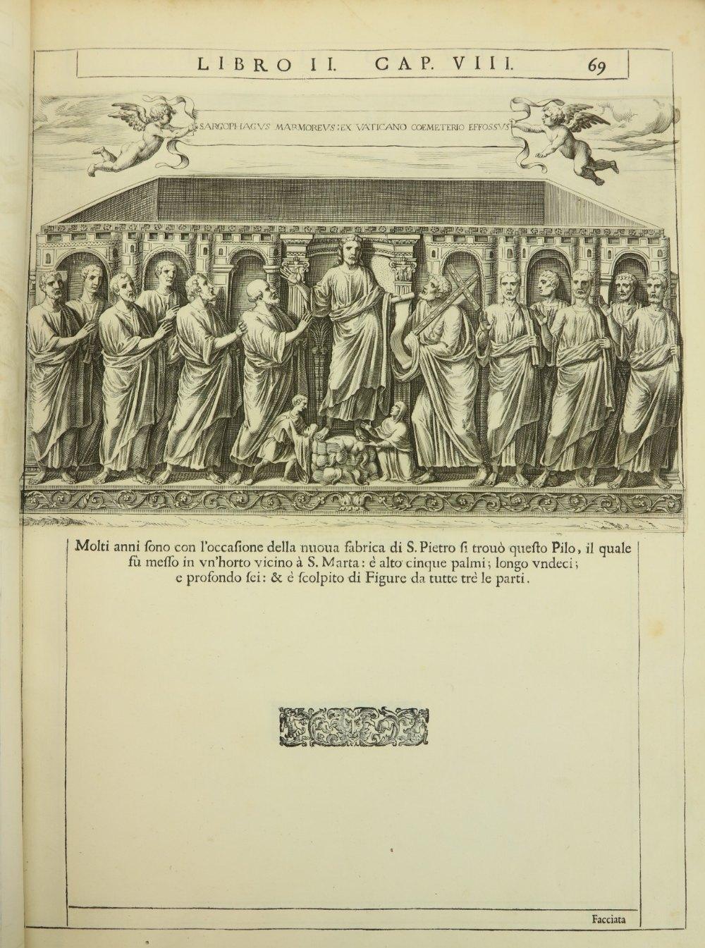 Bosio (Antonio)ÿRoma Sotteranea, Opera Postuma. Large thick folio Rome (Guglielmo Facciotti) 1632. - Image 2 of 2