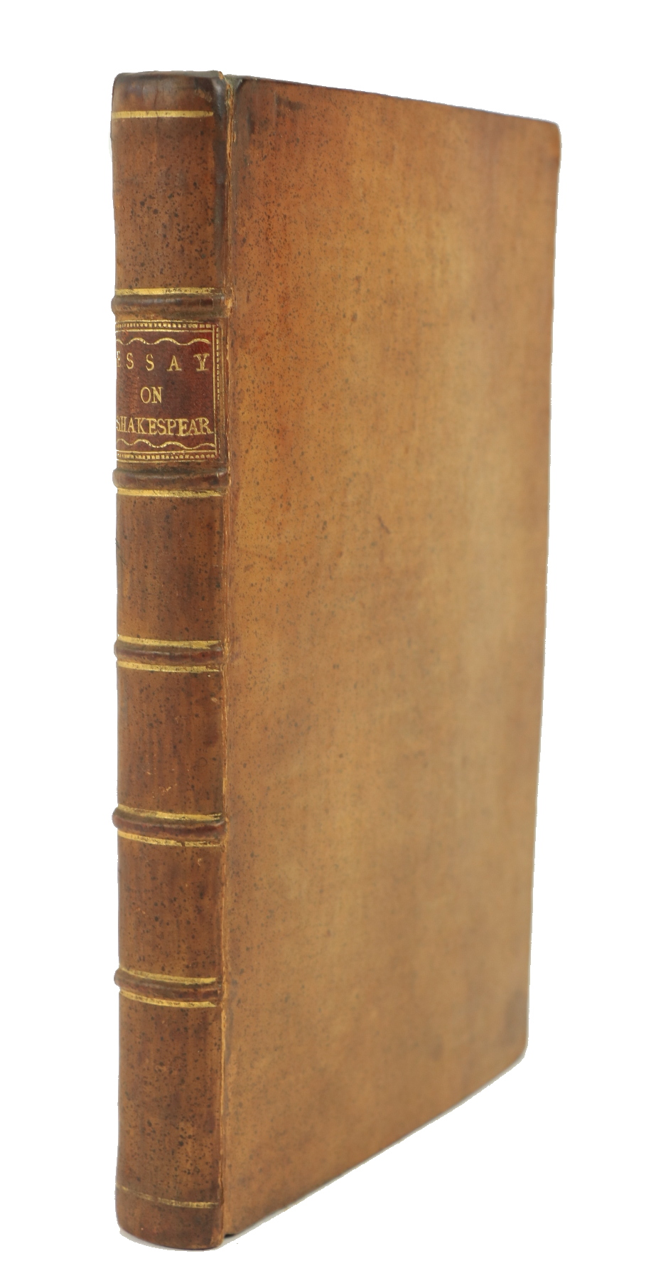 [Montague (Eliz.)]ÿAn Essay on the Writings and Genius of Shakespeare, compared with the Greek and