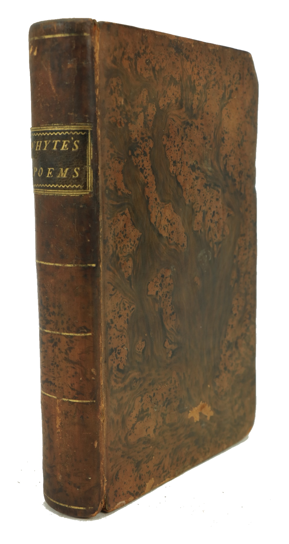 Whyte (Samuel) A Collection of Poems, on Various Subjects, includingÿThe Theatre. 8vo D. 1792. - Image 2 of 2