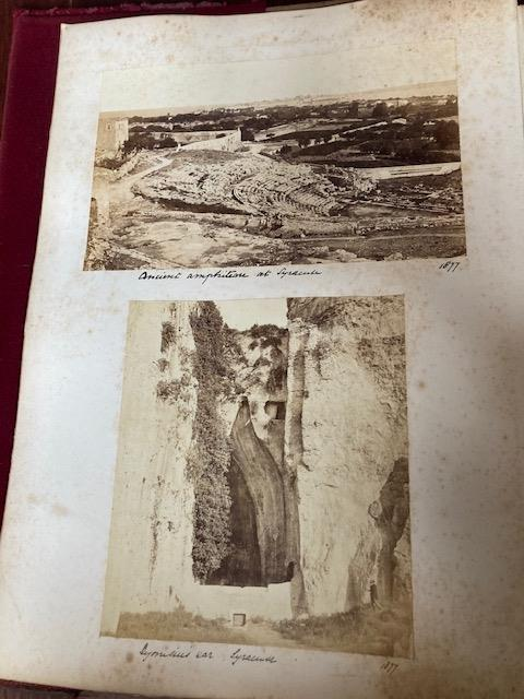 Photographs:ÿ A very good Album of original Photographsÿof various sizes, of travels by a member - Image 26 of 27