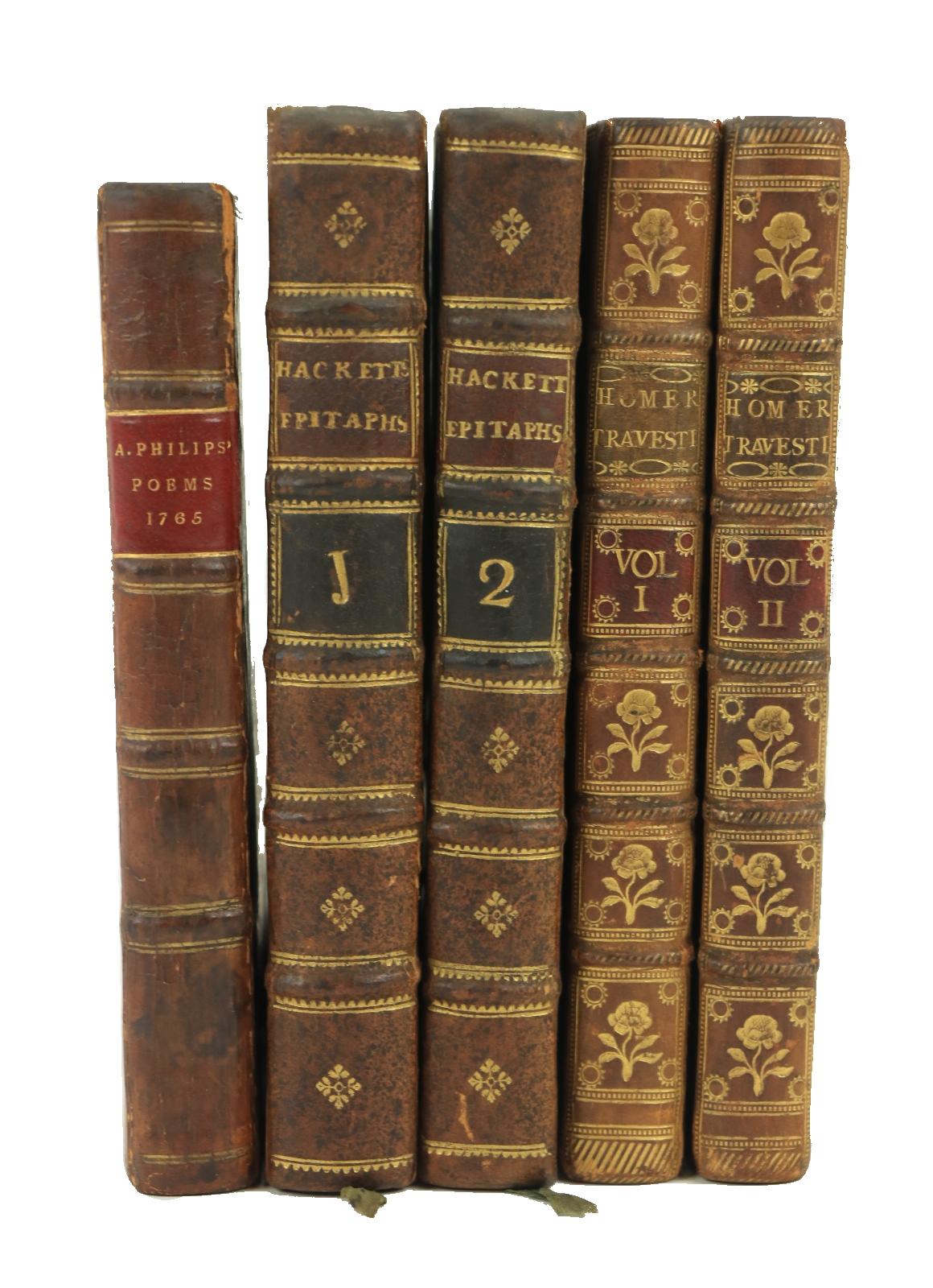 [Brydges (Thos.)]ÿA Burlesque Translationÿof Homer, 2 vols. 12mo L. 1770.ÿThird Edn.,ÿ2 engd.