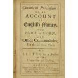 [Fleetwood (William)]ÿChronicon Preciosum: or, An Account of English Money, TheÿPrice of Corn, and