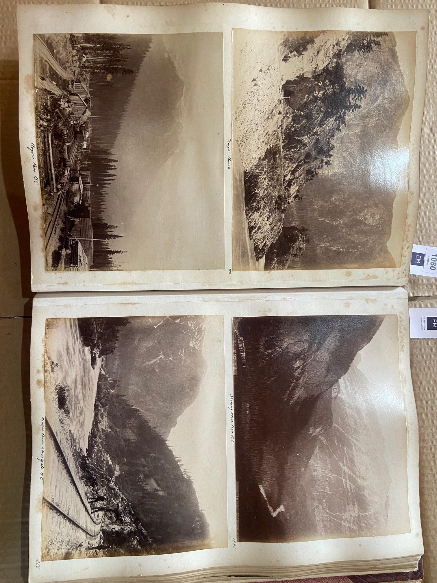 Photographs: Two large folio Albums of Photographs, each c. 1870 - 1890's. One Album contains - Image 12 of 31