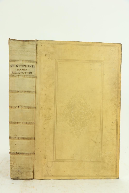 Aristophanes:ÿ Kusterus (Ludolphus)ÿAristophanis Comoediae Undecim, Graece et Latine, Ex Codd.