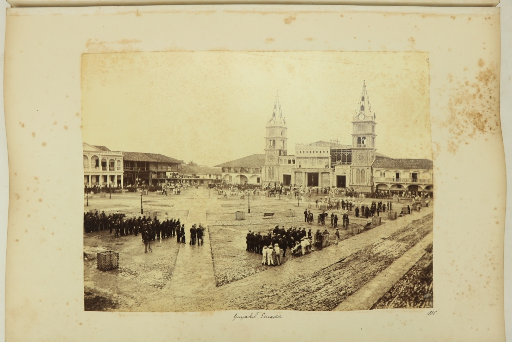 Photographs: Two large folio Albums of Photographs, each c. 1870 - 1890's. One Album contains
