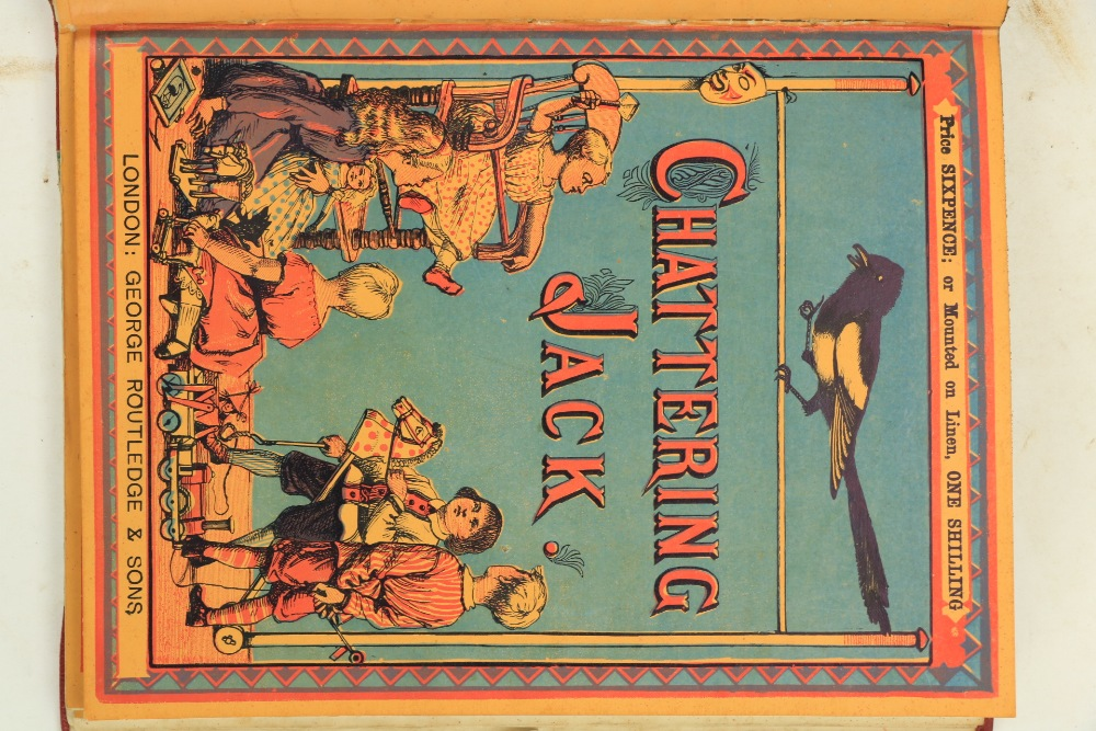 Juvenalia:ÿWalter Crane's Toy Books,ÿNew Series, 4to Lond. (Geo. Routledge) n.d. Containing, - Image 3 of 5