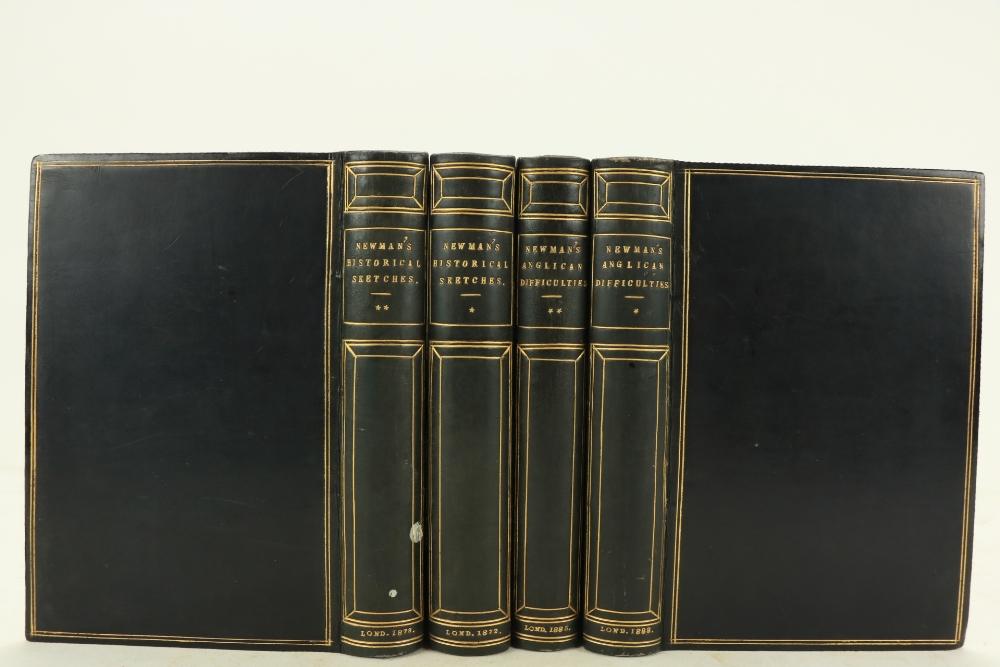 Newman (St. John Henry)ÿHistorical Sketches, 2vols. 8vo Lond. (Basil M. Pickering) 1872 & 1873;