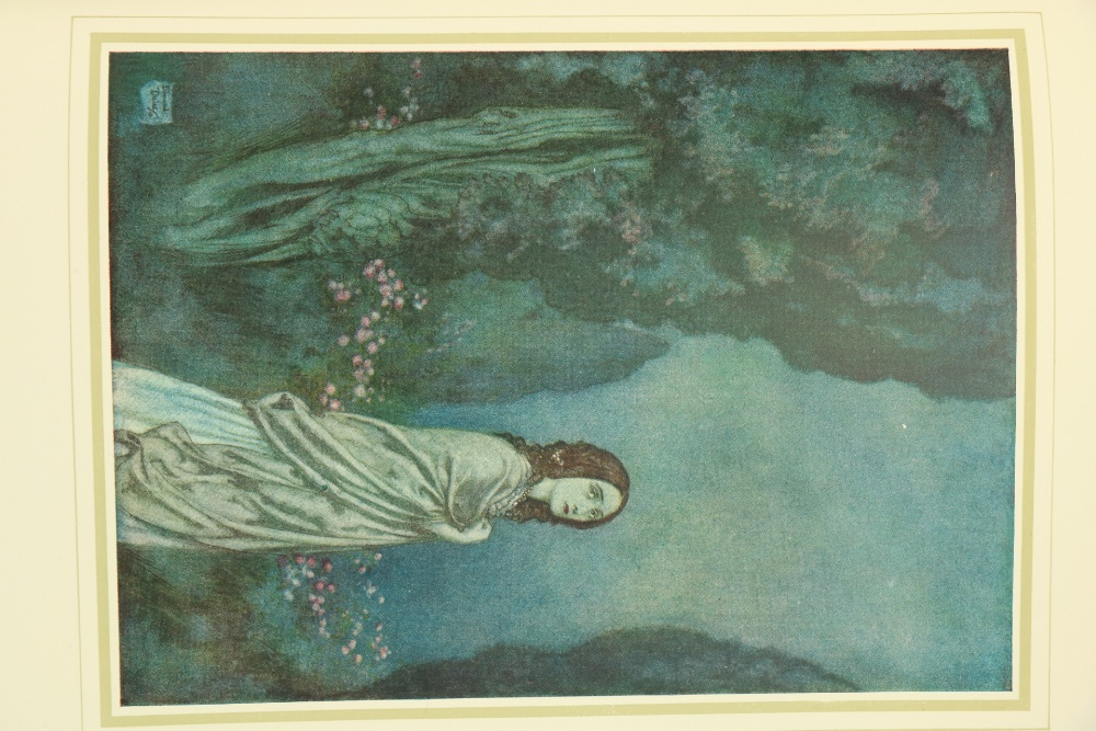 Illustrated Volumes:ÿ de la Motte - FougueÿUndine, trans. by W.L. Courtney, 4to Lond. 1909. 15 - Image 3 of 5