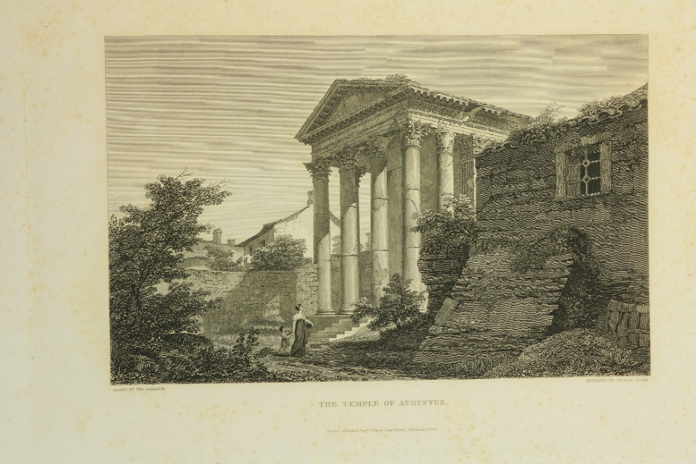 Allaston (Thos.)Arch.ÿPicturesqueÿviews of the Antiquities of Pola in Istria, lg. Atlas folio - Image 3 of 3