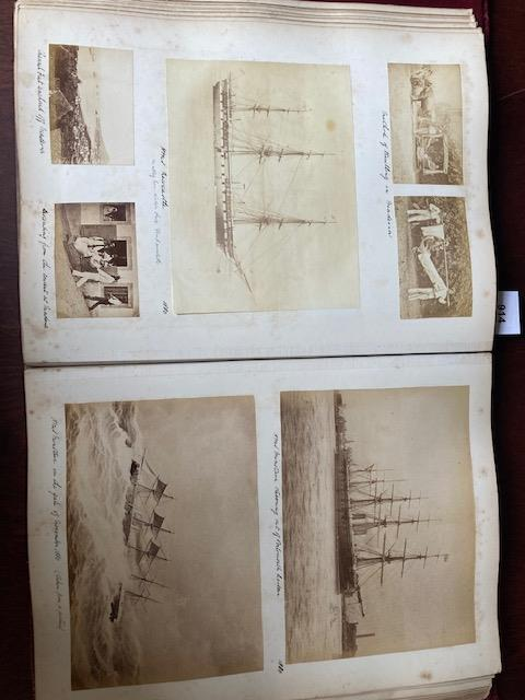 Photographs:ÿ A very good Album of original Photographsÿof various sizes, of travels by a member - Image 19 of 27
