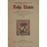 Pauli (Dr. Reinhold)Confessio Amatsis John Gower, 3 vols. Lond. (Bell & Daldy) 1857, cloth. (3)